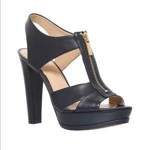 Michael Kors Shoes - Michael Kors bishop platform heels tan color